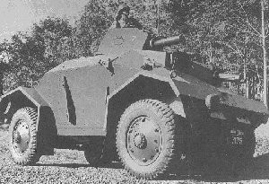 Alvis Straussler Armoured Car