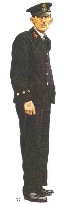 Chief Petty Officer, Royal Navy 1940