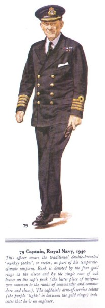 Captain, Royal Navy 1940
