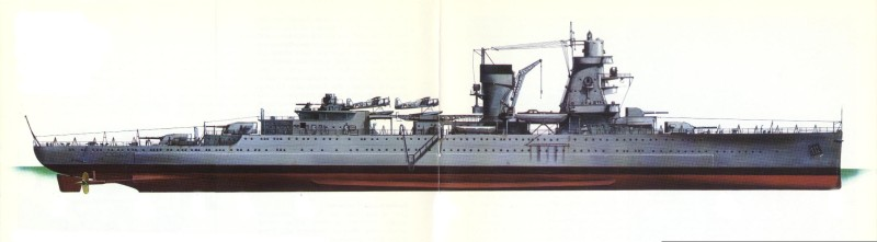Light Cruiser De Ruyter