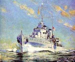 Australian light cruiser Perth