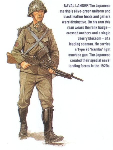 Japanese Soldier, SNLF 1941-1945
